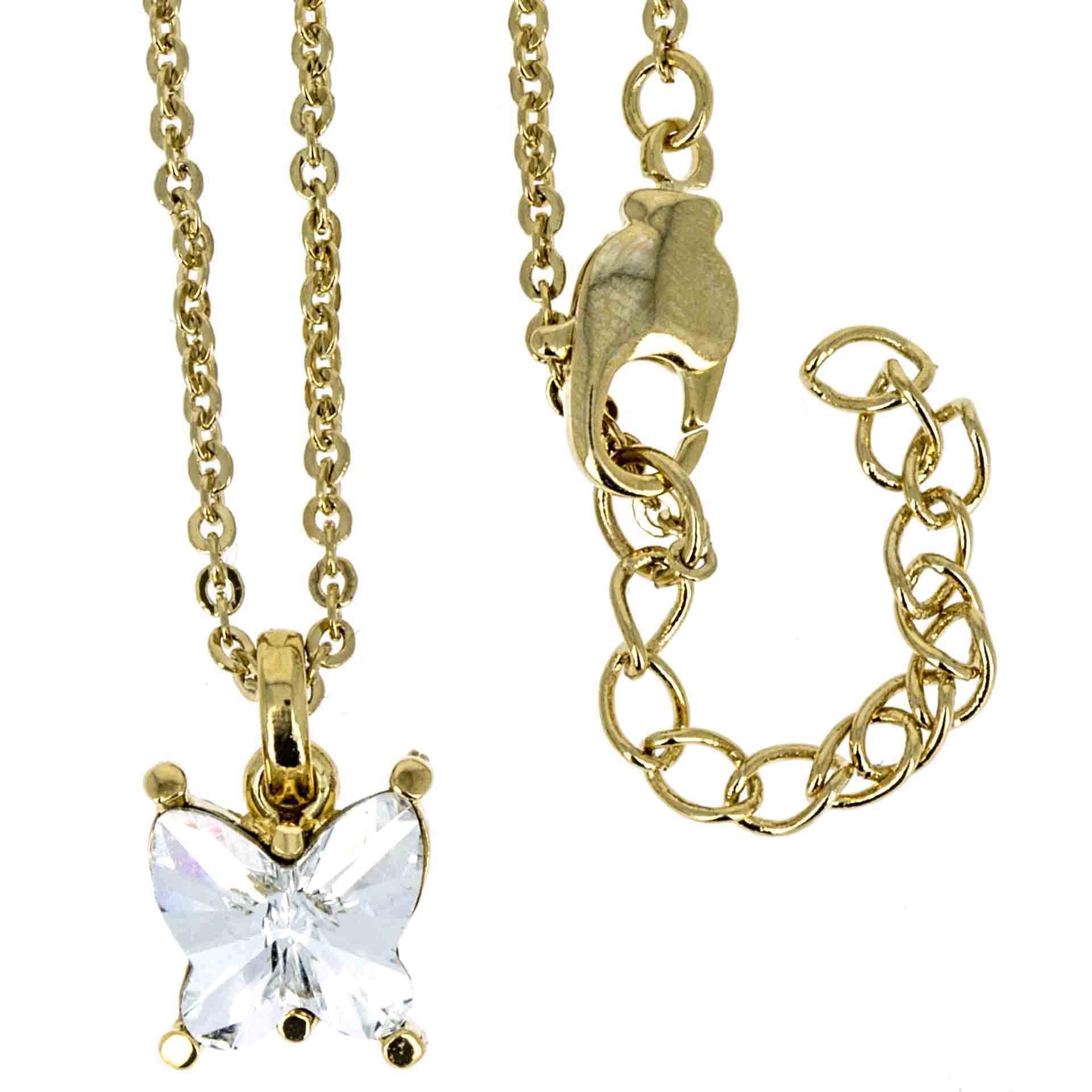 Halskette mit Swarovskikristall